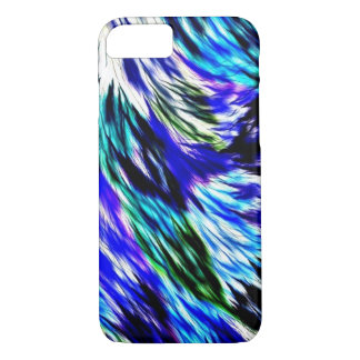 Decorative Wavy Abstract iPhone 8/7 Case