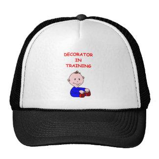 DECORATOR TRUCKER HATS