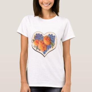 Decoupage Love Heart-1 T-Shirt