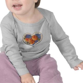 Decoupage Love Heart-1 Tee Shirts