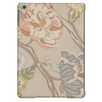 Decrative Organza Chintz Floral Design Cover For iPad Air
