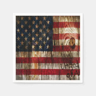 Decree Of Recognition Veterans Day Party Napkins Disposable Napkin
