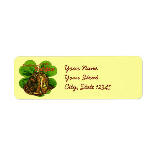 Dedicated Irish Firefighter Return Address Label