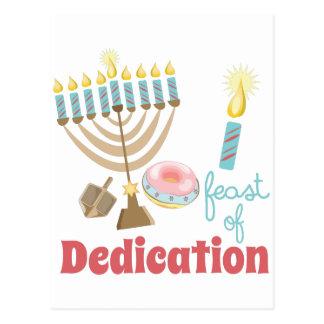 Dedication Feast Postcard