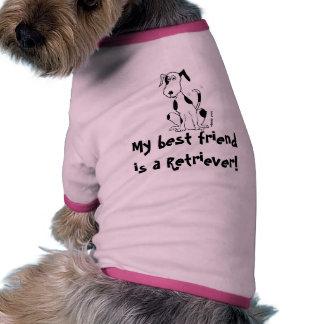 Deefa dog - My best friend is a Beagle Doggie Shirt