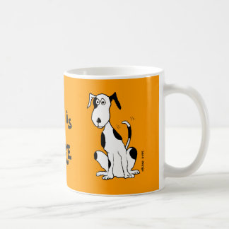 Deefa Dog my best friend is mug