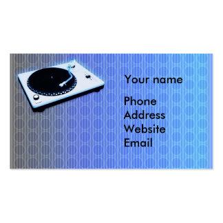 Deejay Business Card Template