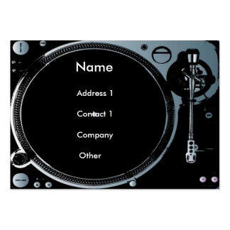Deejay business cards