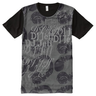 deejay dj music cool and custom All-Over print T-Shirt