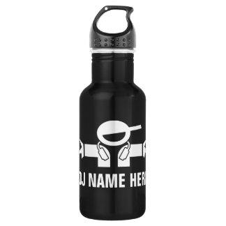 Deejay water bottle for music DJ Disk Jockey 532 Ml Water Bottle