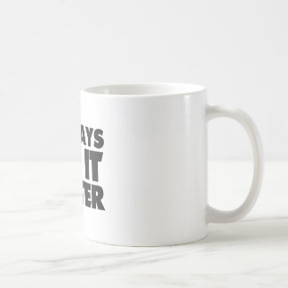Deejays Do it Better white Mug