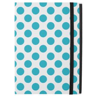 """Deep Aqua Polka Dots iPad Pro 12.9"""" Case"""