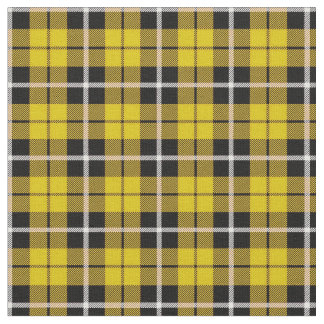 Deep Autumn bright yellow white/black stripe Fabric