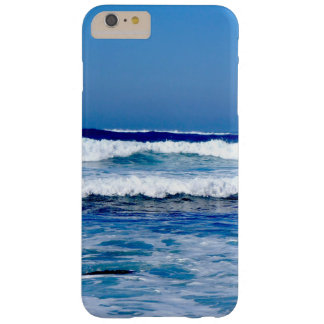 Deep Blue Atlantic Ocean Waves on the Beach Barely There iPhone 6 Plus Case
