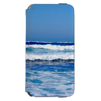 Deep Blue Atlantic Ocean Waves on the Beach Incipio Watson™ iPhone 6 Wallet Case