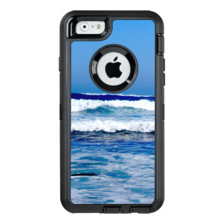 Deep Blue Atlantic Ocean Waves on the Beach OtterBox Defender iPhone Case