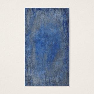 Deep Blue Bark Texture Business Card