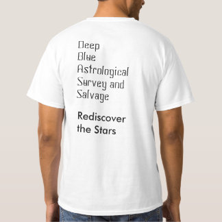 Deep Blue Core Star Tee