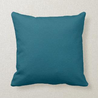 Deep Blue Eternal Reversible Throw Pillow
