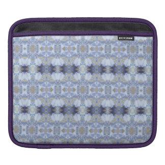 Deep Blue Iris Garden Rickshaw iPad Sleeve