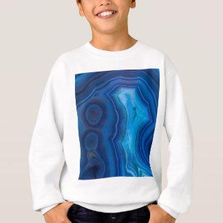 Deep Blue Lagoon Agate Sweatshirt