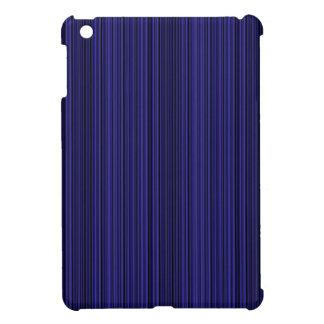 Deep blue lines iPad mini case
