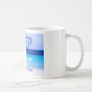 Deep Blue logo backdrop Coffee Mug