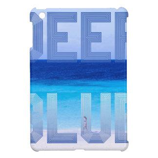 Deep Blue logo backdrop iPad Mini Cases