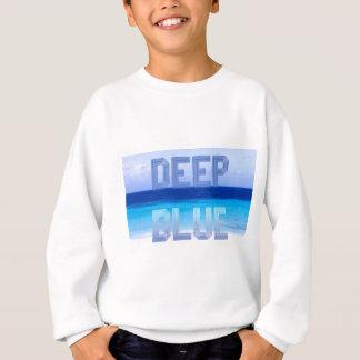 Deep Blue logo backdrop Sweatshirt