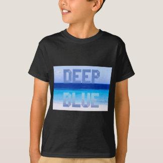 Deep Blue logo backdrop T-Shirt