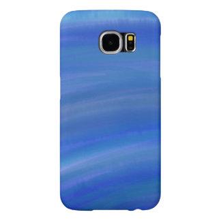 Deep Blue Ocean Watercolor Samsung Galaxy 6s case