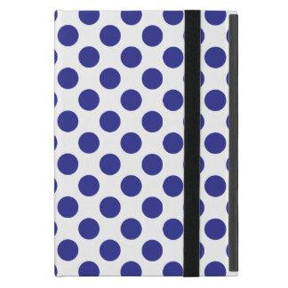 Deep Blue Polka Dots Cover For iPad Mini