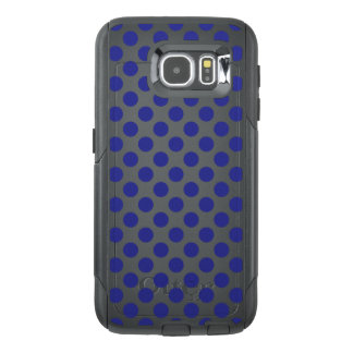 Deep Blue Polka Dots OtterBox Samsung Galaxy S6 Case