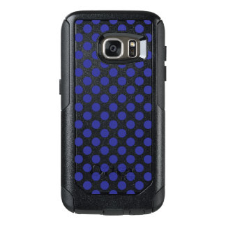 Deep Blue Polka Dots OtterBox Samsung Galaxy S7 Case