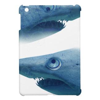 Deep Blue Sea Shark Animals Aqua iPad Mini Case