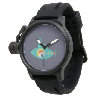 Deep blue sea watch