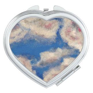 DEEP BLUE SKY (a cloud design) ~ Vanity Mirrors