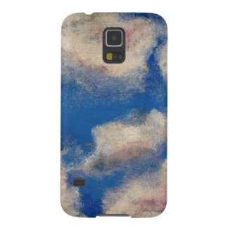 DEEP BLUE SKY (a sky with clouds design) ~ Galaxy S5 Covers