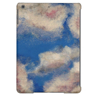 DEEP BLUE SKY (a sky with clouds design) ~ iPad Air Case