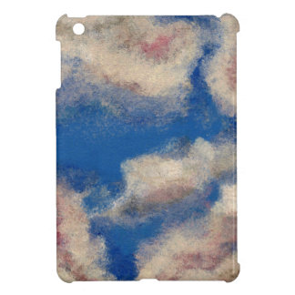 DEEP BLUE SKY (a sky with clouds design) ~ Cover For The iPad Mini