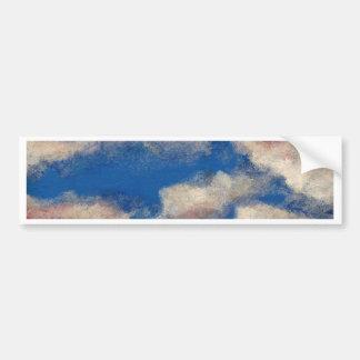 DEEP BLUE SKY ~ BUMPER STICKER