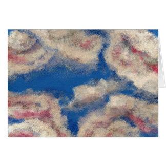 DEEP BLUE SKY ~ GREETING CARD