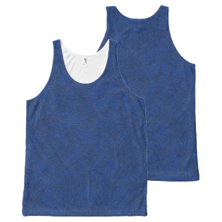 DEEP BLUE SKY (have you ever seen a bluer sky?) ~ All-Over Print Tank Top