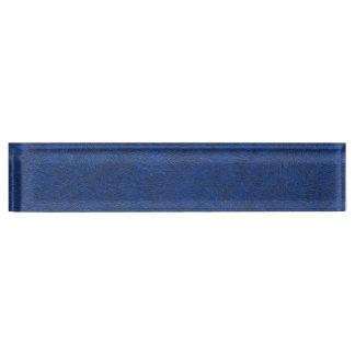 DEEP BLUE SKY (have you ever seen a bluer sky?) ~ Desk Name Plates