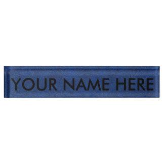 DEEP BLUE SKY (have you ever seen a bluer sky?) ~ Nameplates
