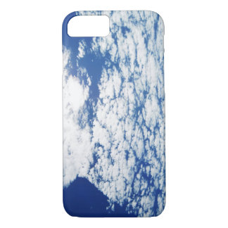 Deep Blue Sky & Morning Clouds iPhone 7 Case
