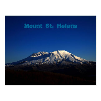 Deep Blue Sky Mount Saint Helens Postcard