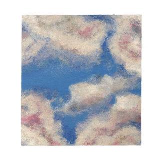 DEEP BLUE SKY MEMO NOTE PADS