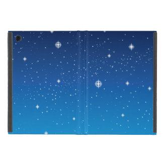 Deep Blue Starry Night Sky iPad Mini Cover