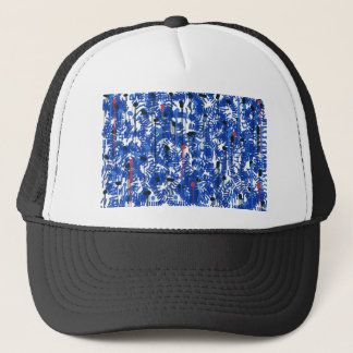 Deep Blue Trucker Hat